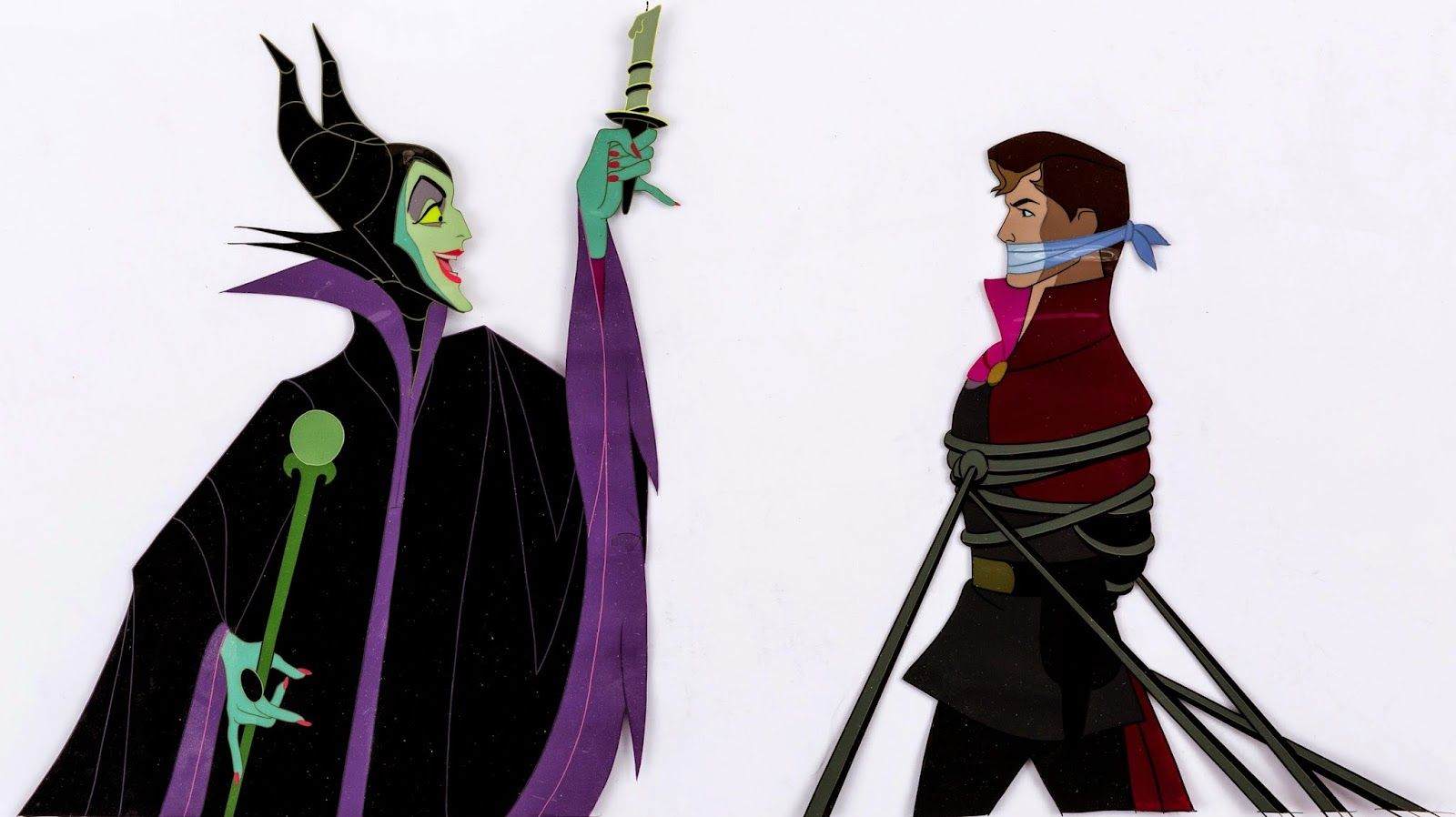 repainted maleficent and prince - photo #23
