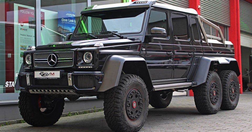 Missed Your Chance To Buy A Mercedes G63 6x6 You Can Still Find