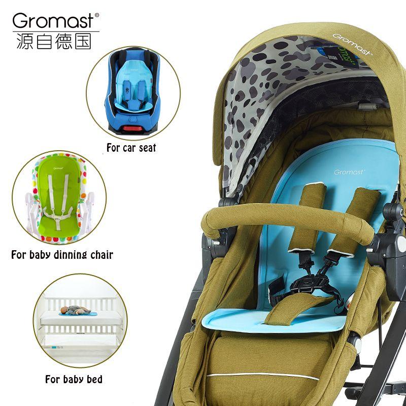Gromast Unique Design Baby Stroller Cool Mat Car Seat Summer Ice