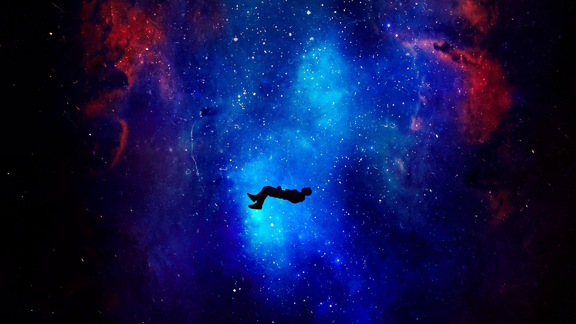 неоновый путь обои галактика обои живописные пейзажи