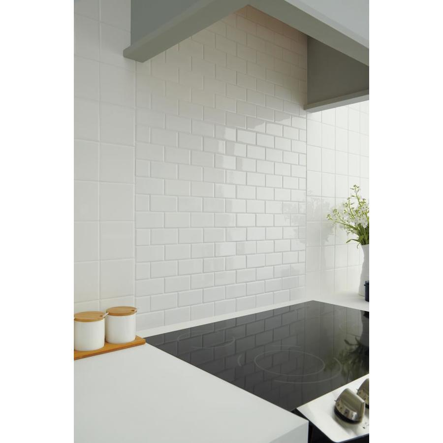 American Olean Starting Line White Gloss 12 In X 12 In Glazed Ceramic Brick Mosaic Wall Tile Sample Lowes Com Ceramic Wall Tiles Mosaic Wall Tiles Wall Tiles