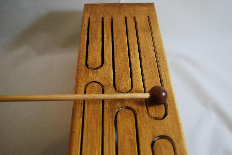 Wooden Tongue Drum (Basswood). $25.00, via Etsy.