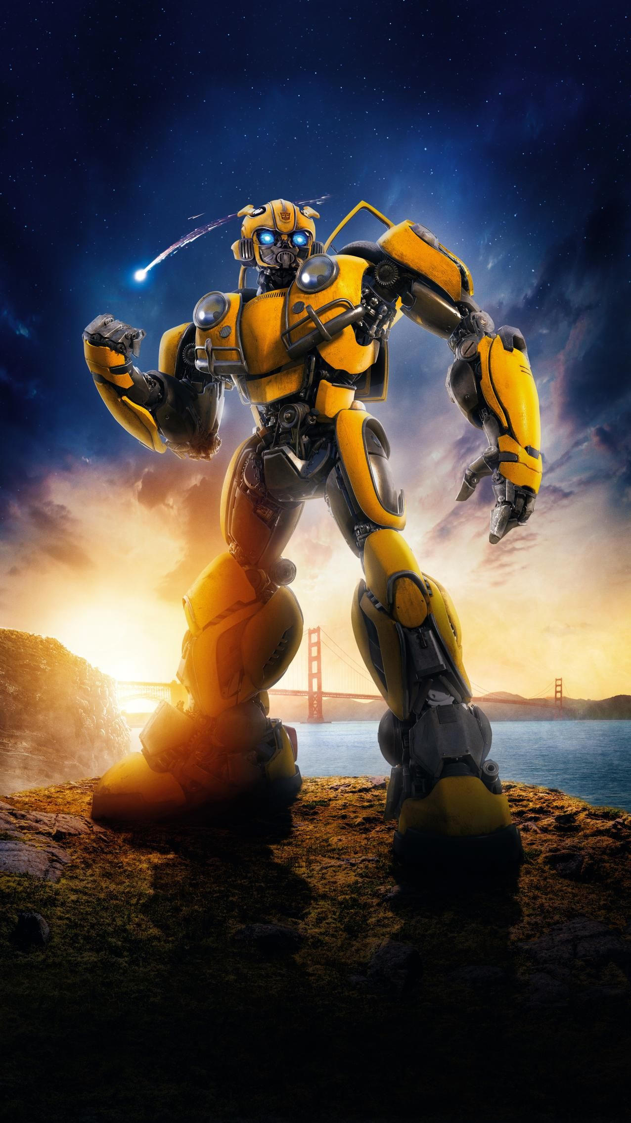 Bumblebee 2018 Phone Wallpaper Transformers Movie