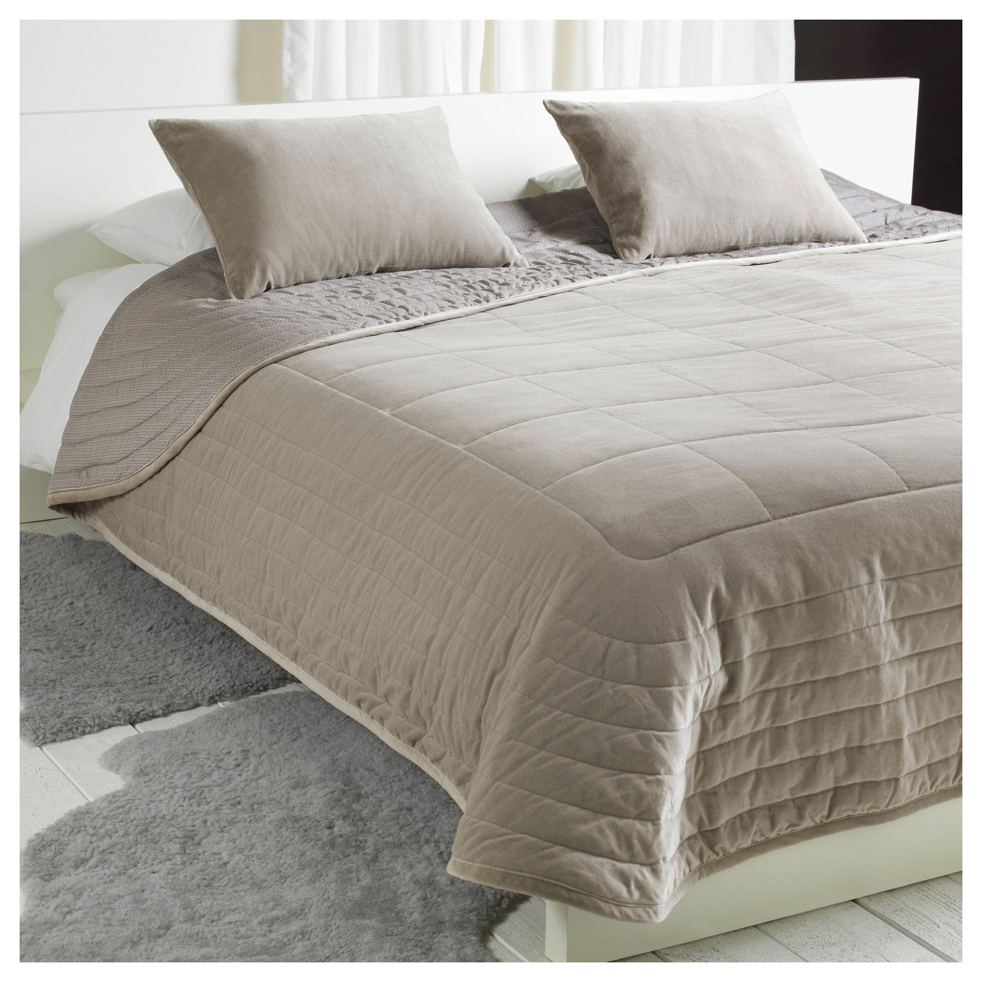 penningblad bedspread and 2 cushion covers ikea sr tr. Black Bedroom Furniture Sets. Home Design Ideas