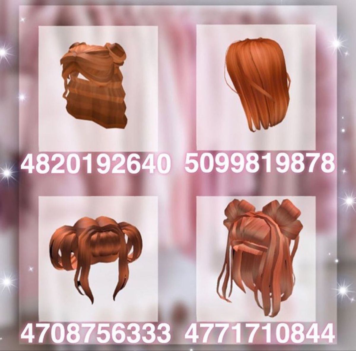 Roblox Girl Hair Codes Part 2 Youtube