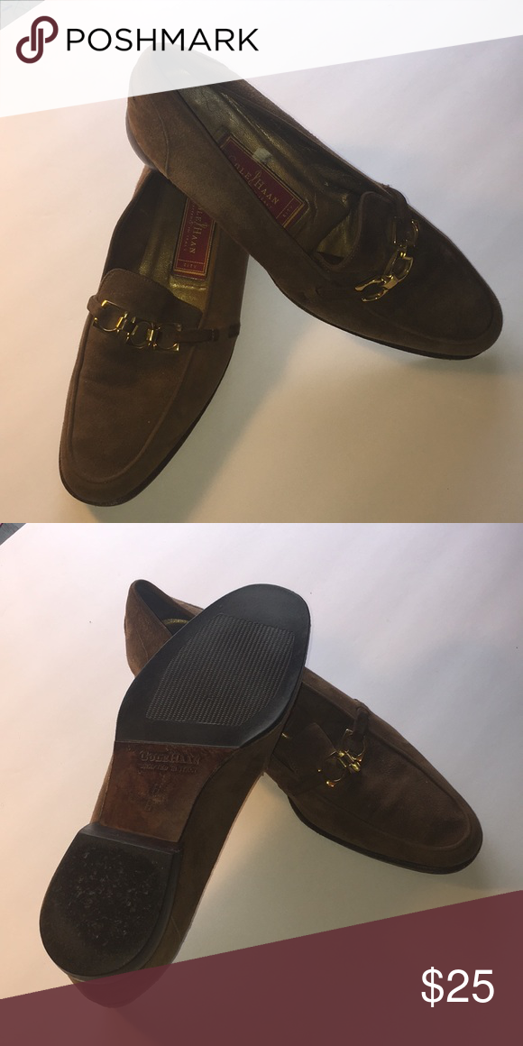 9e4247cdf8b Cole Haan Women Shoes Cole Haan brown with gold Hardware Cole Haan Shoes  Heels