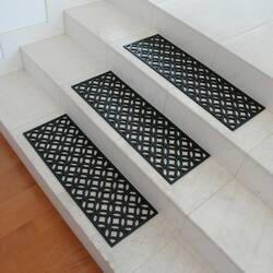 New Amsterdam Black Stair Treads (Set of 6)
