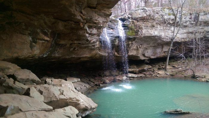 There S A Waterfall Swimming Hole In Illinois That Will Make Your Summer Complete Best Places To Camp Illinois Travel Shawnee National Forest