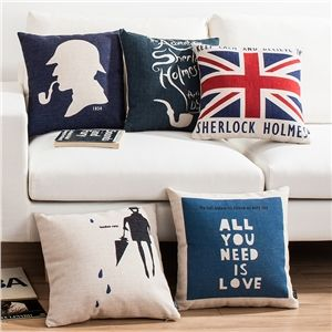 Ikea Decorative Pillows Simple Ikea Nordique Sherlock Sept Modèles Canapés Bureau D'oreiller Lin Decorating Design