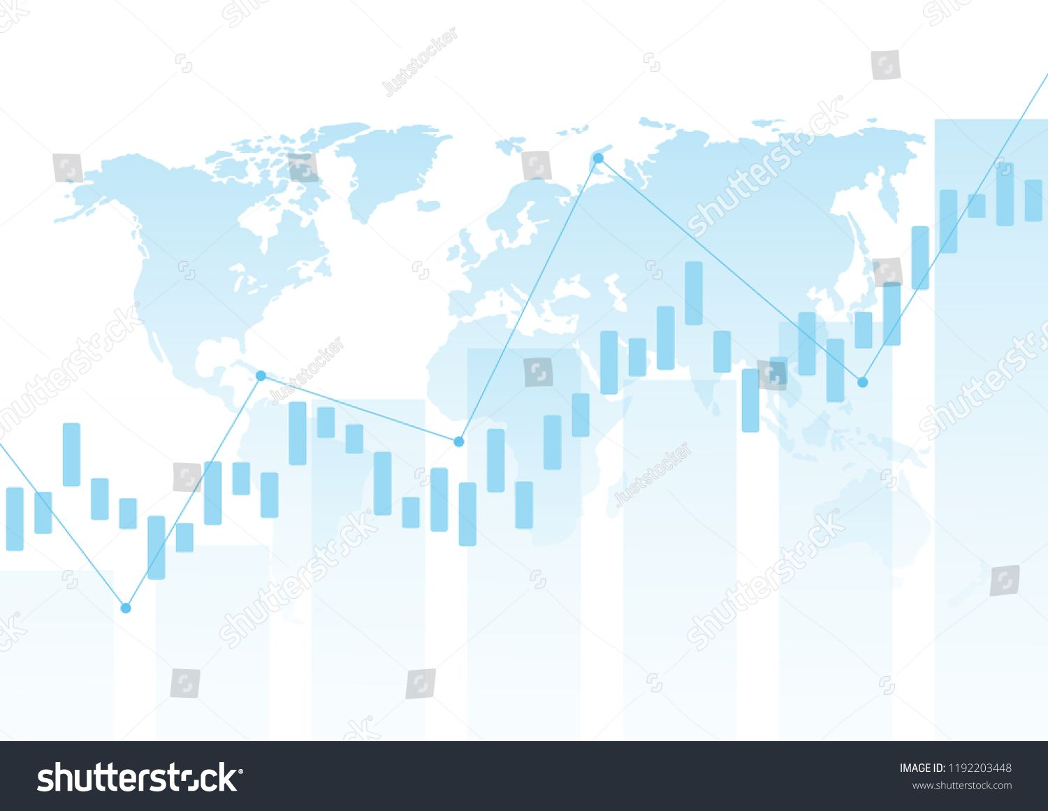Abstract Background Stock Market And Exchange Stock Market Data Vector Illustration Stock Market Abstrac Abstract Backgrounds Stock Market Stock Illustration