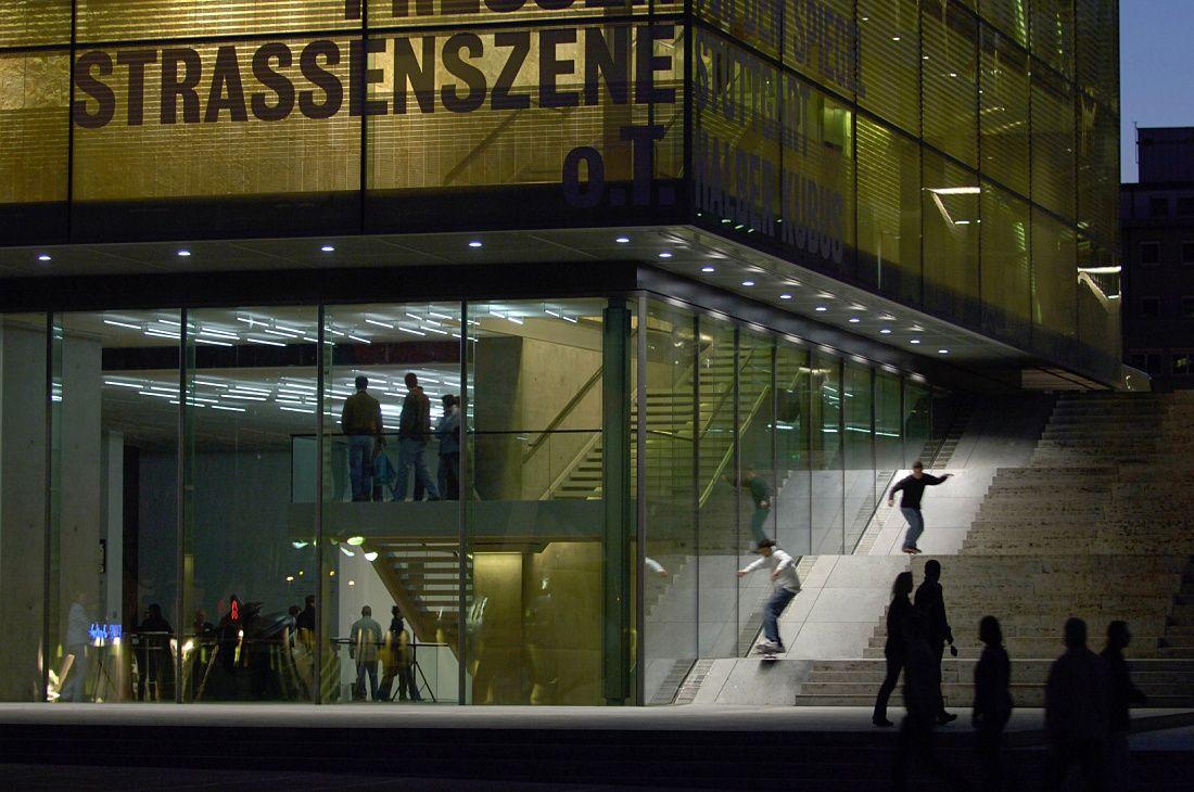 ERCO - Descubrir la luz - Culture - Kunstmuseum Stuttgart (Museo del Arte de Stuttgart)