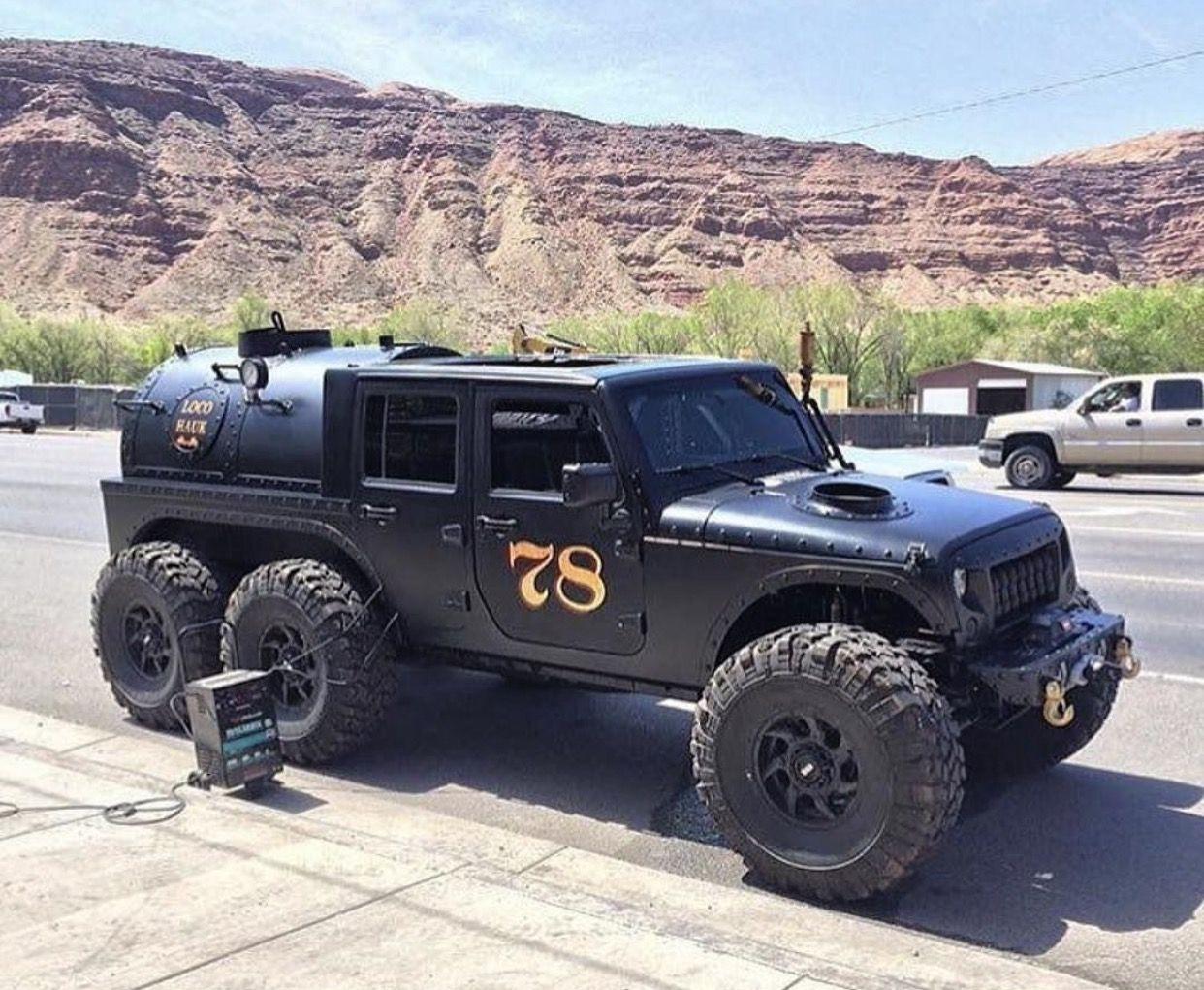 Jeep Wrangler 6x6 Trucks Jeep Truck Jeep Cars
