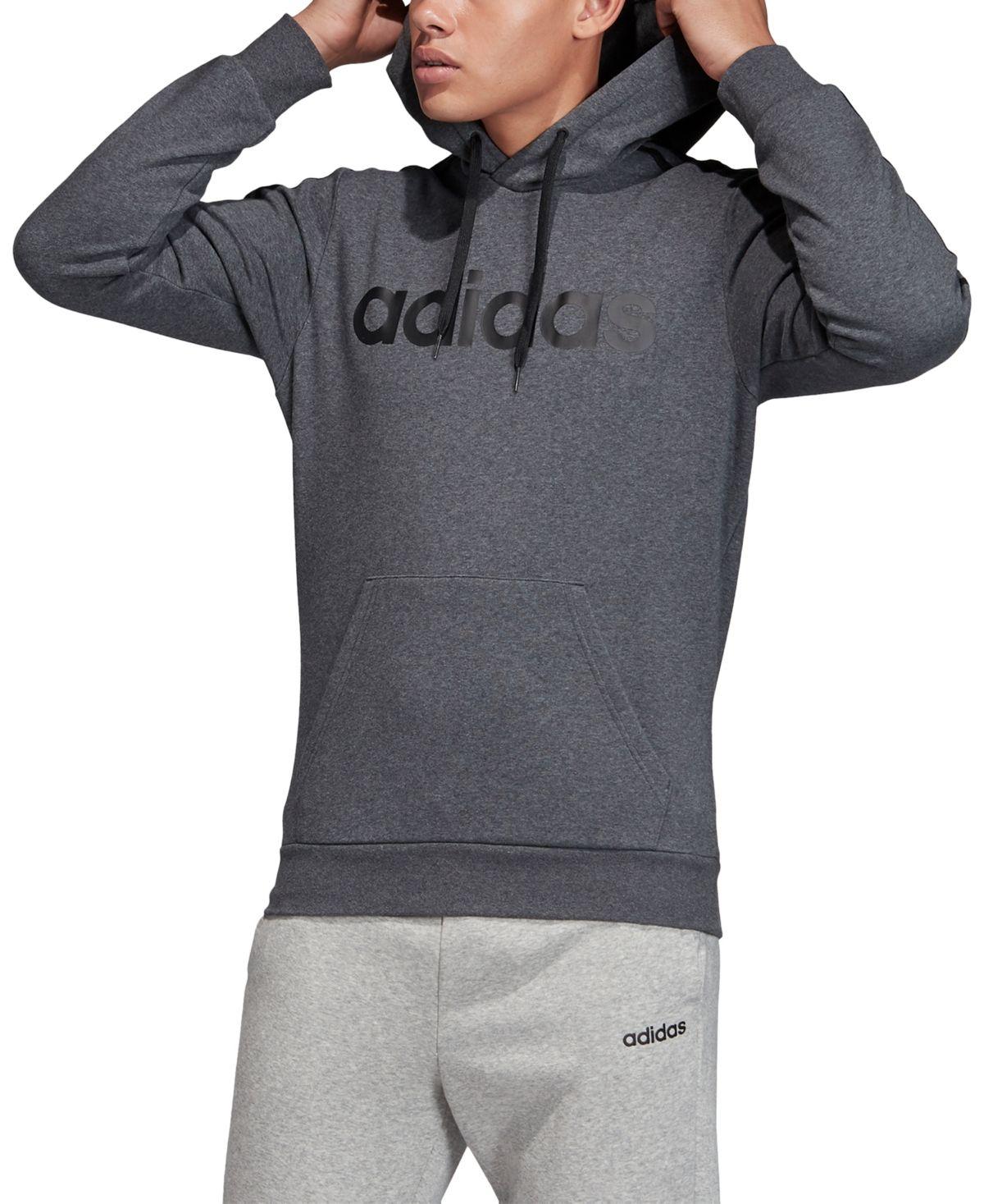 Adidas Men S Essentials 3 Stripes Fleece Logo Hoodie Reviews All Activewear Men Macy S In 2021 Sporty Outfits For Men Hoodie Outfit Men Adidas Men [ 1467 x 1200 Pixel ]