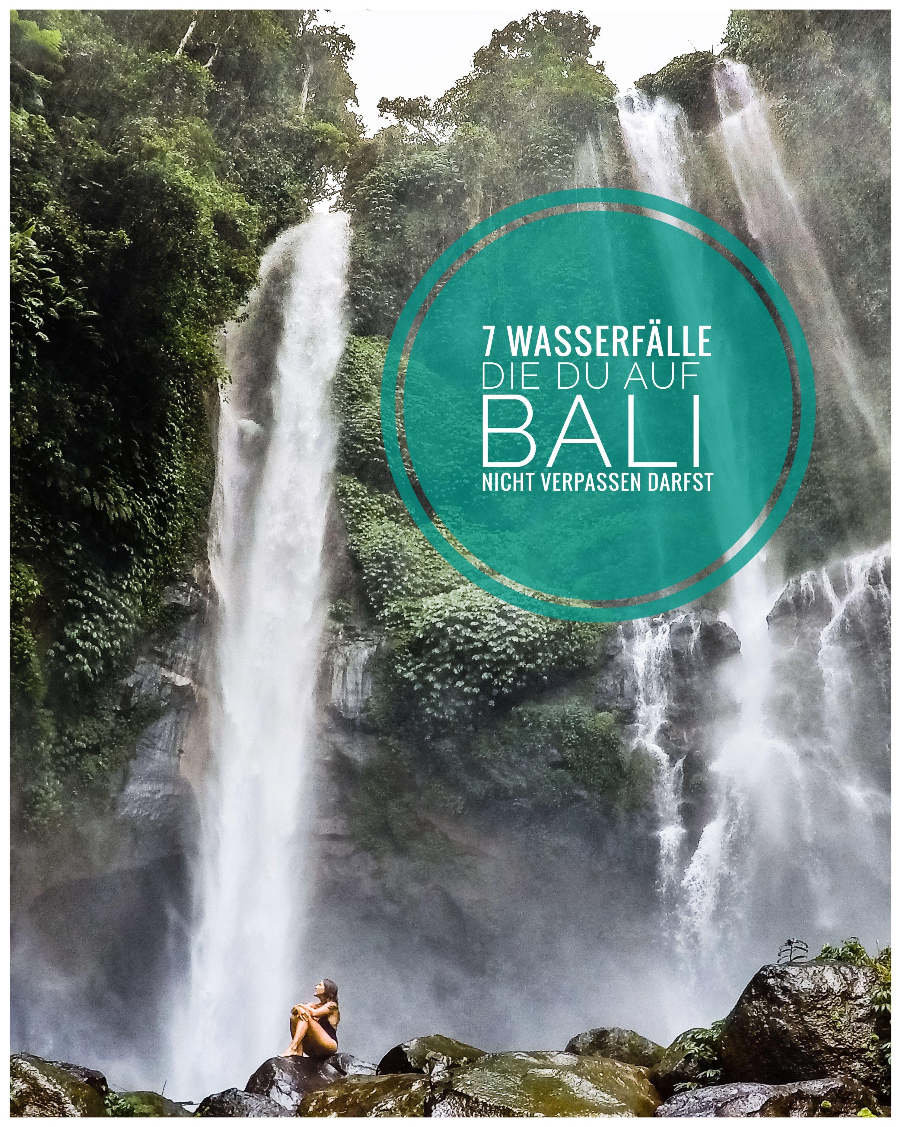 Photo of 7 Wasserfälle, die Sie auf Bali nicht verpassen dürfen