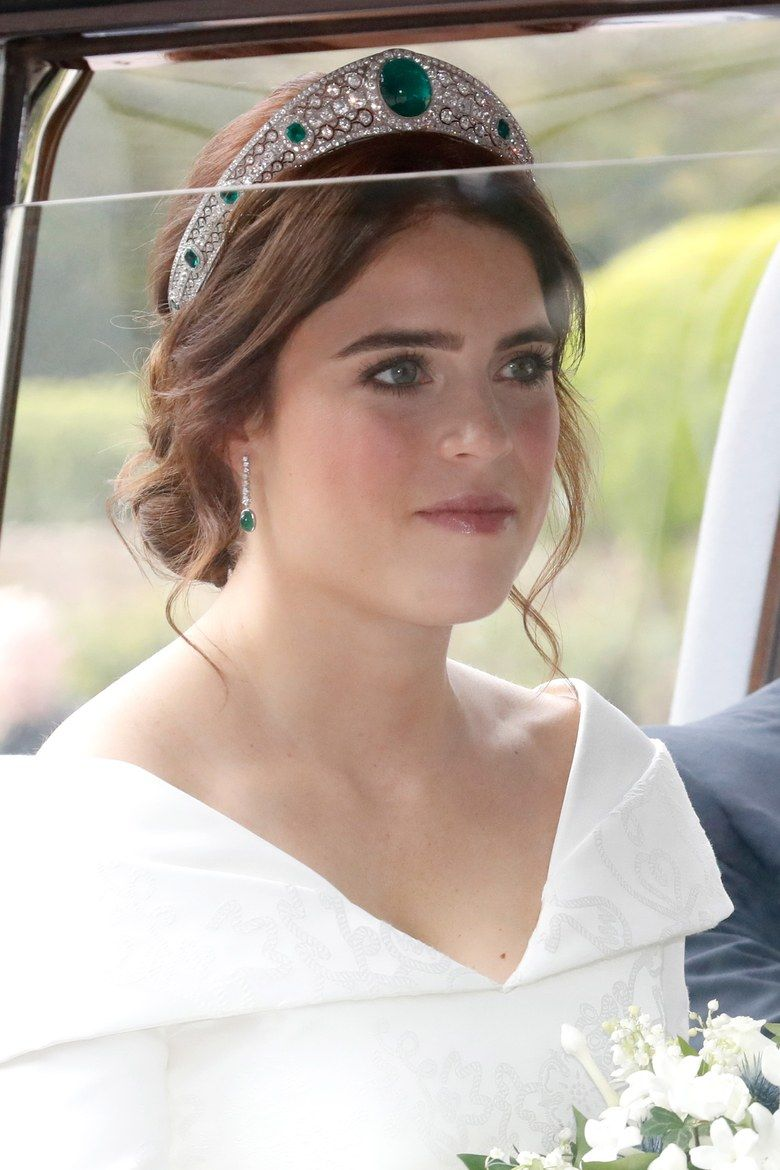 The History Behind Princess Eugenie's Emerald and Diamond