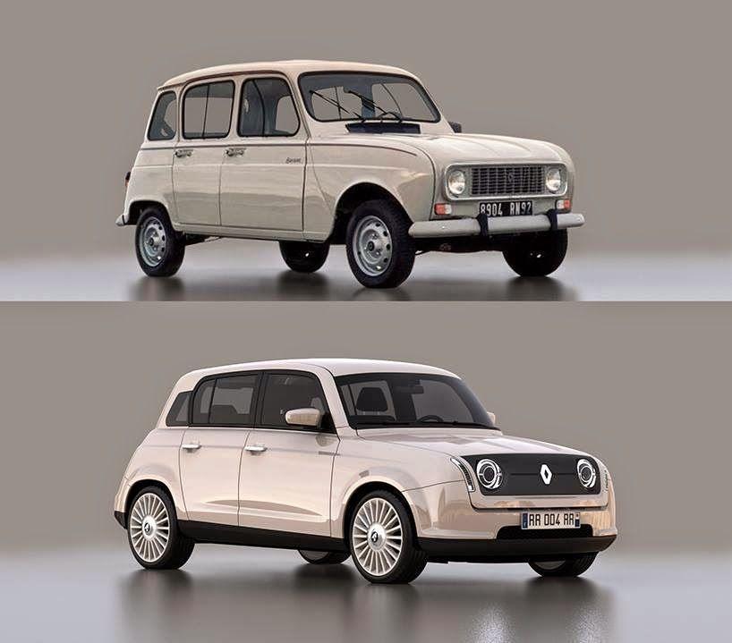 Vuelve El Renault 4 (COOLHUNTER TRENDSPOTTER)