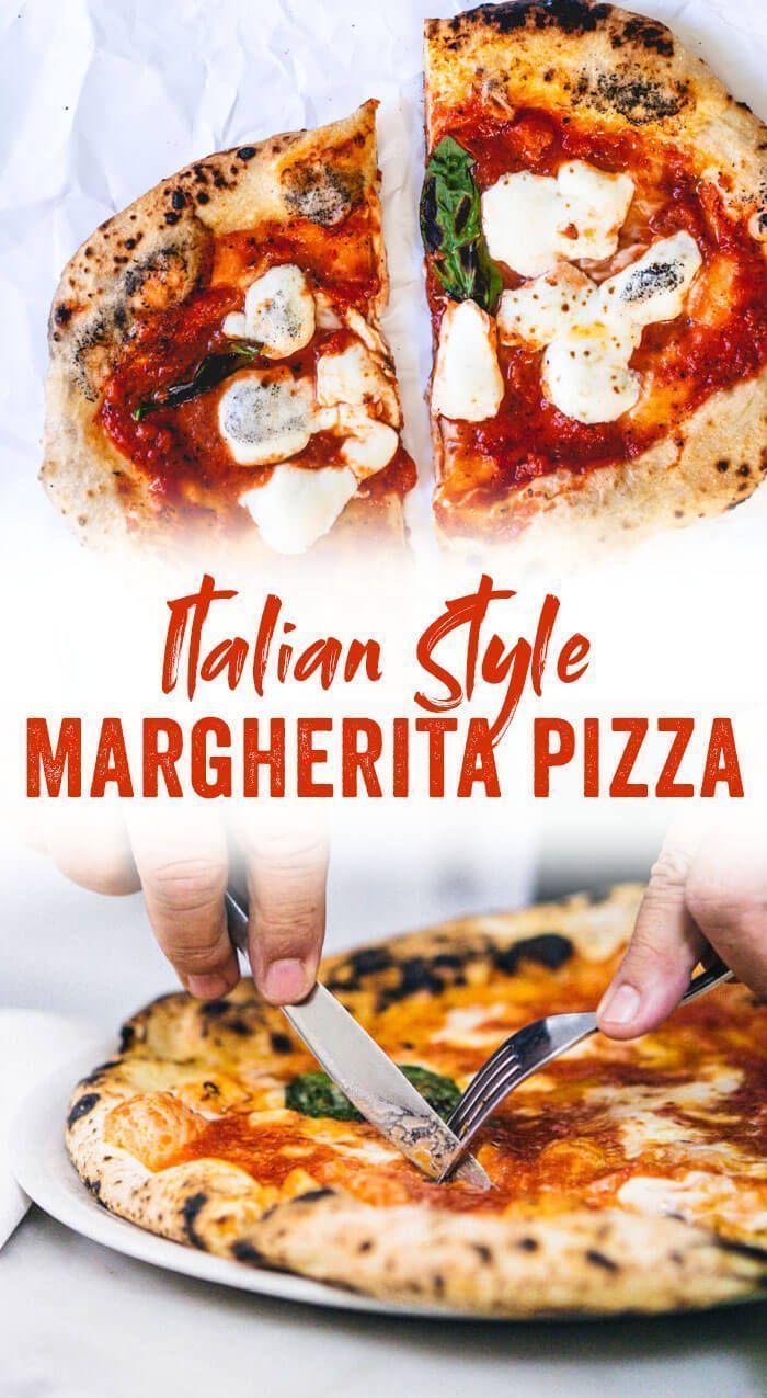 Hausgemachte Margherita Pizza (Geheimnisse für perfekten Teig & Sauce!)  – Food   Pizza All Day