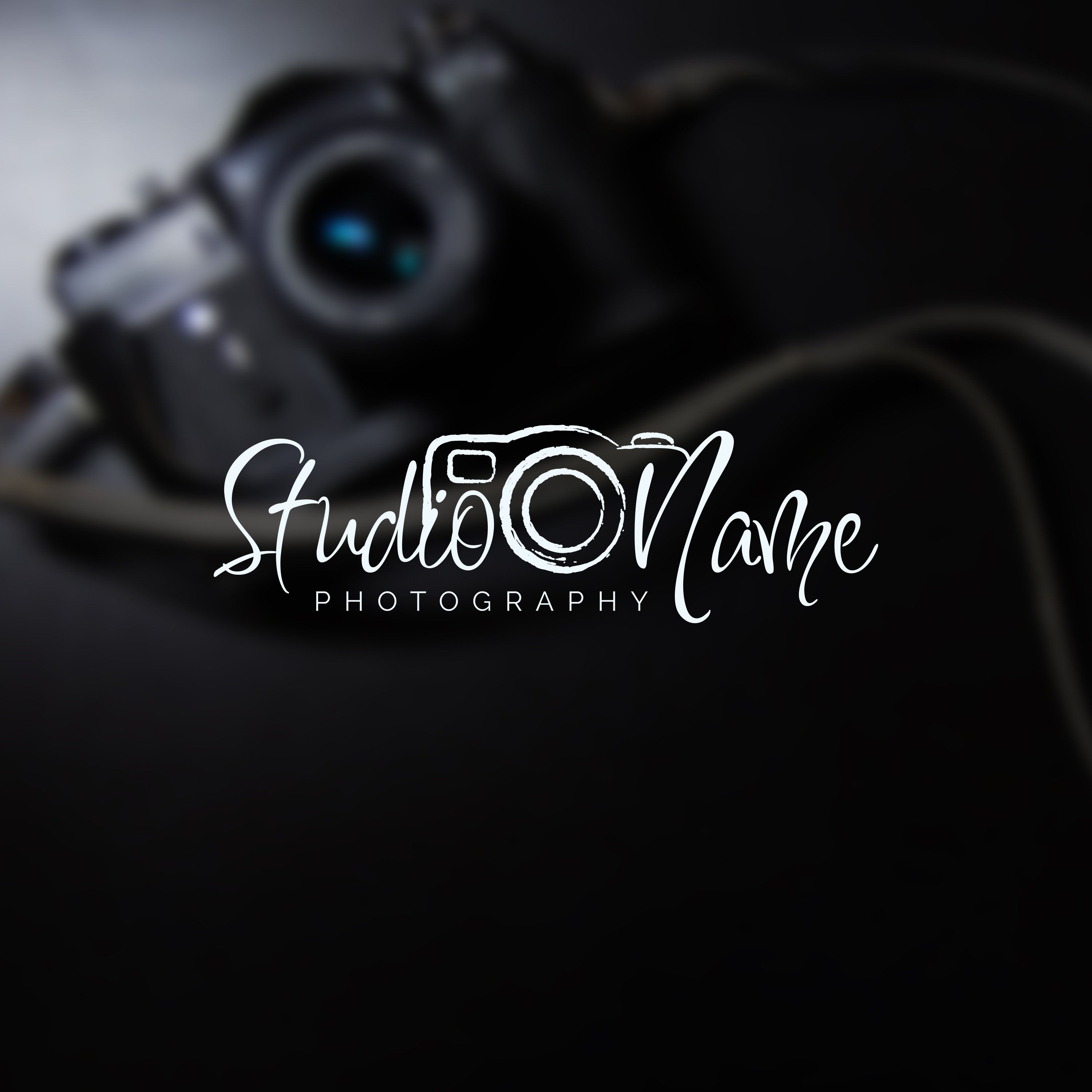 Instant Logo Design, Photography Logo and Watermark