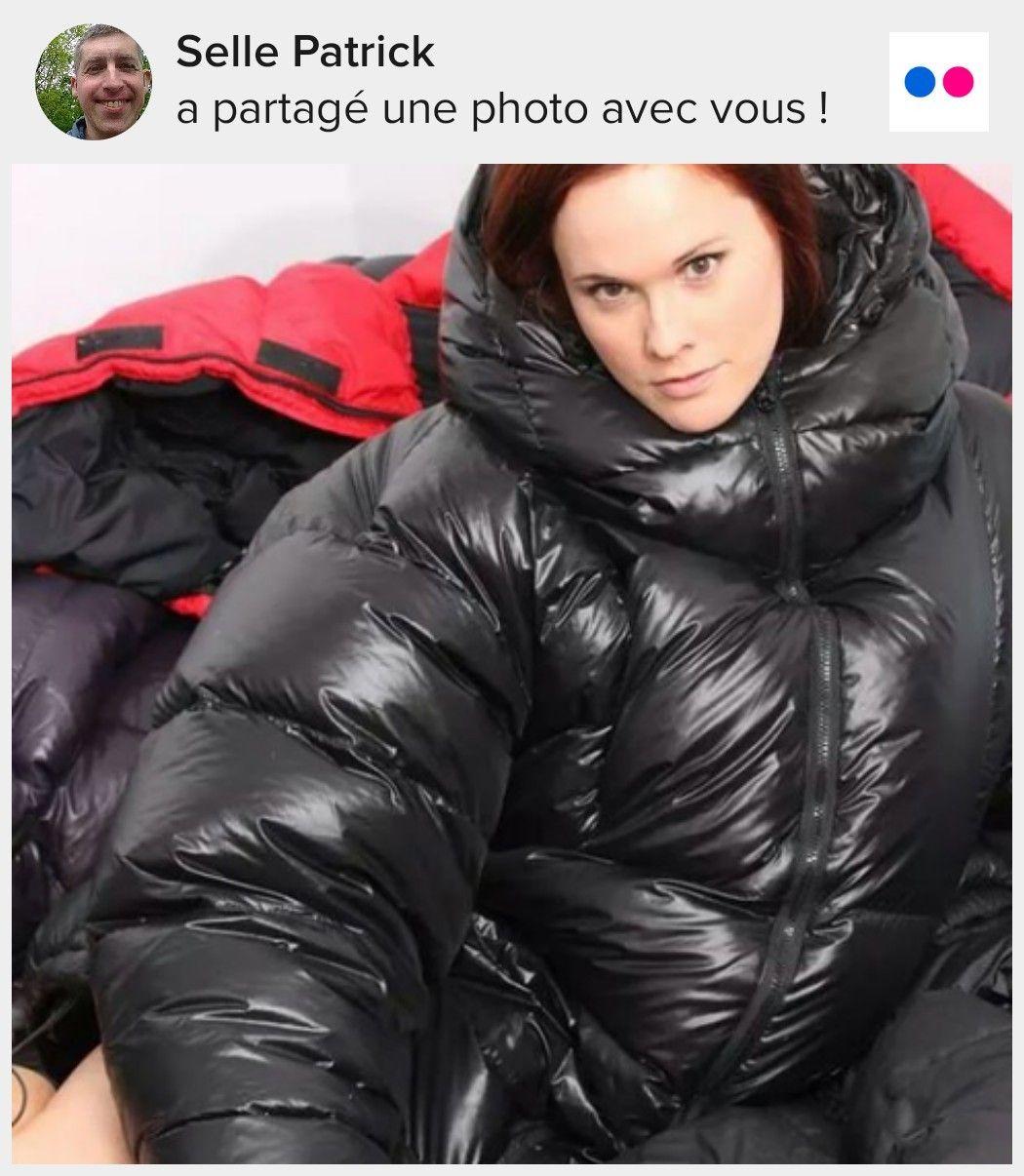Puffy jacket porn