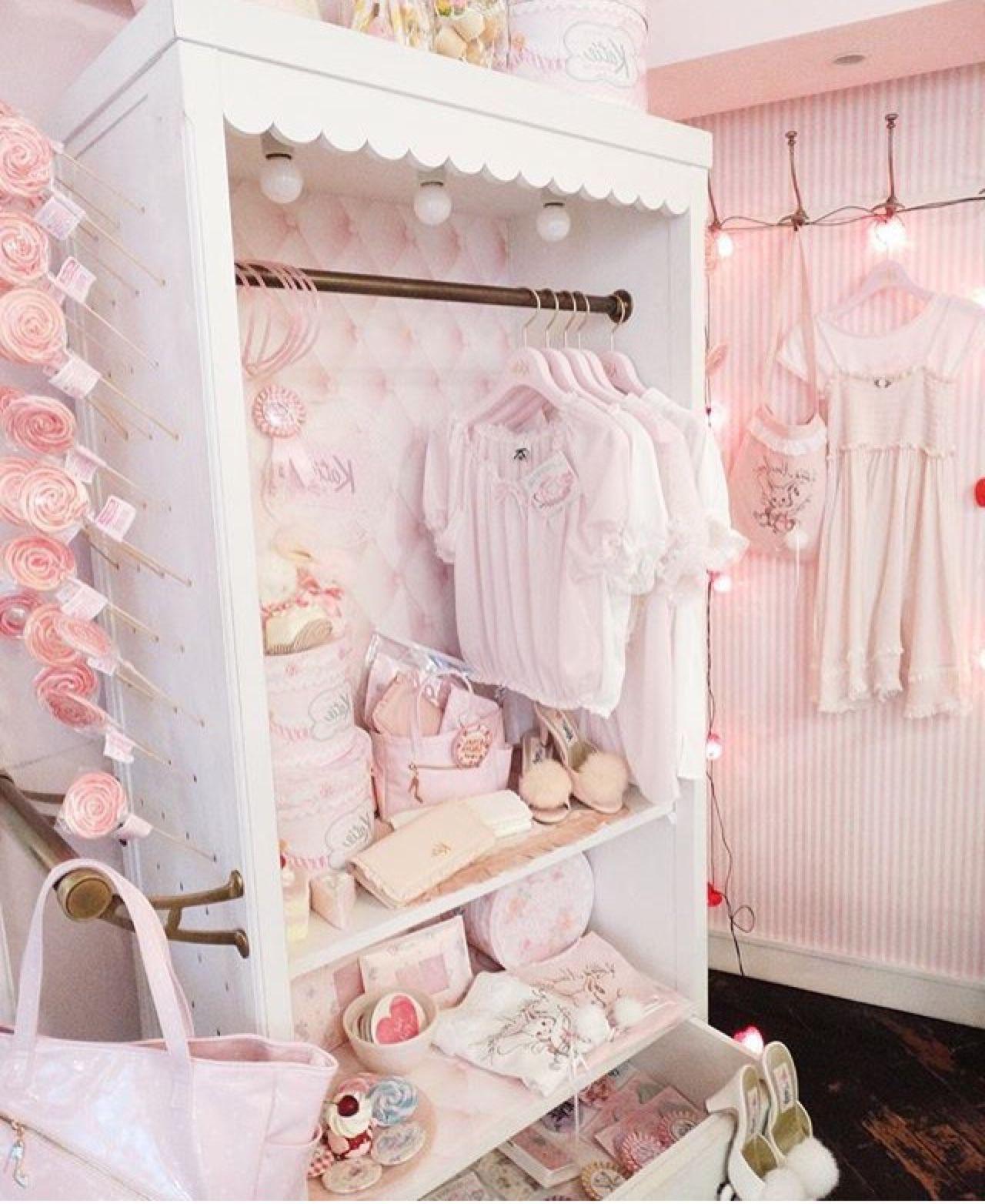 Cute Girly Closet Wallpaper Iphone Best Iphone Wallpaper Kawaii Bedroom Girly Room Kawaii Room