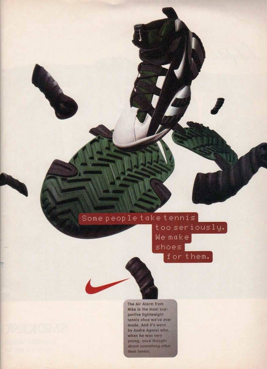Nike 90s Commercial Shoes Ads Nike Ad Nike