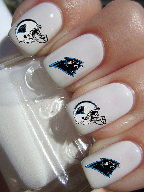 Carolina panthers nfl football nail decals by crazyfunnailart carolina panthers nfl football nail decals by crazyfunnailart prinsesfo Images
