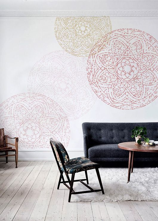 Afbeeldingsresultaat Voor Mandala Muurschildering Woonkamer Makeover Muurschildering Woonkamer