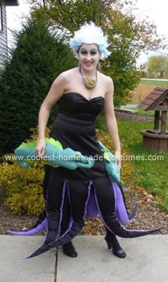 Coolest homemade ursula costume ursula costumes and halloween coolest homemade ursula costume solutioingenieria Image collections