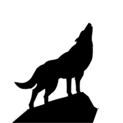 Howling Wolf Silhouette Psd38709 A Image By Budnikred Roblox Updated 8 12 2011 3 00 11 Am Wolf Silhouette Silhouette Clip Art Wolf Stencil