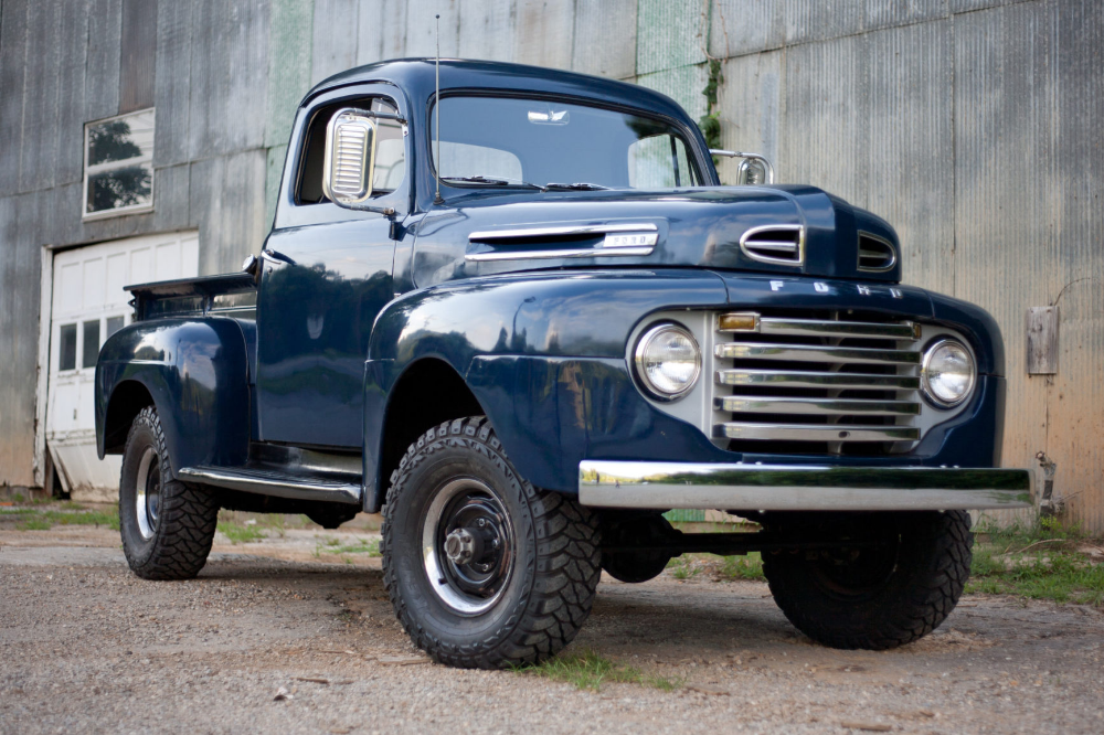 1950 Ford F-1 4×4 Conversion