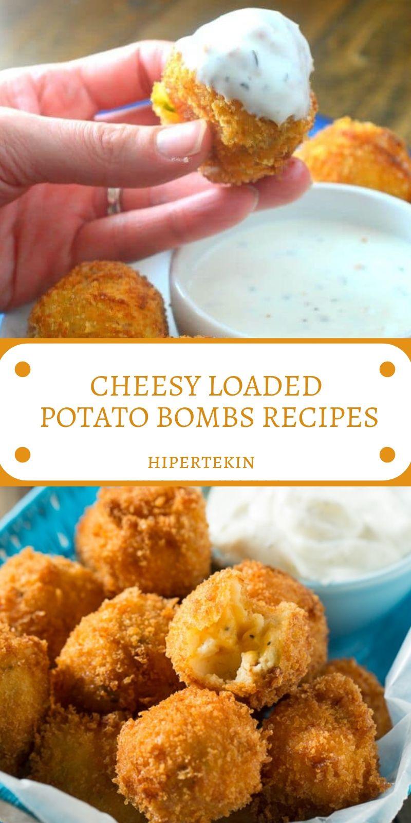 Photo of Hipertekin: CHEESY LOADED POTATO BOMBS RECIPES