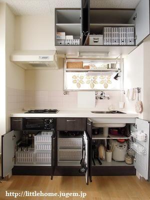 狭いキッチンを快適に すっきり収納アイディア実例集 home kitchen shelves little houses on kitchen organization japanese id=65333