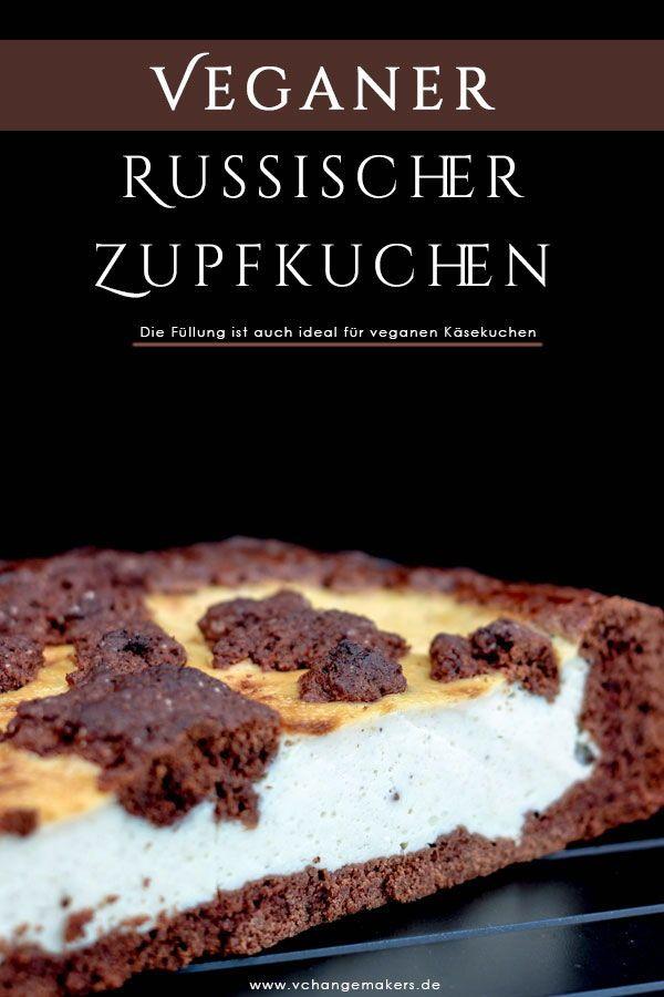 Photo of Rezept: Genialer Russischer Zupfkuchen vegan – Käsiges Schokoträumchen