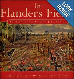 In Flanders Fields: The Story of the Poem by John McCrae (picture book)