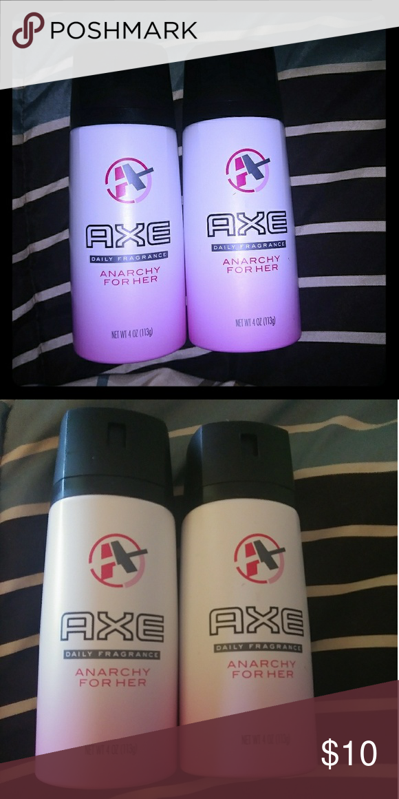 Axe For Her Axe Body Spray For Her Both Are At Least 90 Full Only Sprayed A Few Times Other Axe Body Spray Body Spray Fragrance