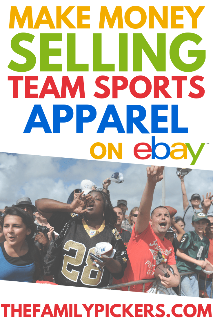 Best Selling Sports Team Merchandise On Ebay With Images Making Money On Ebay Ebay Selling Tips Ebay