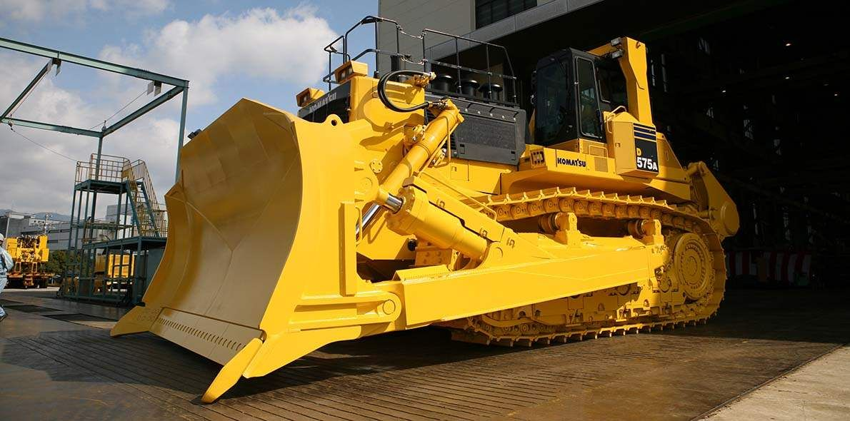 Komatsu D575 The Great Picture Book Of Construction