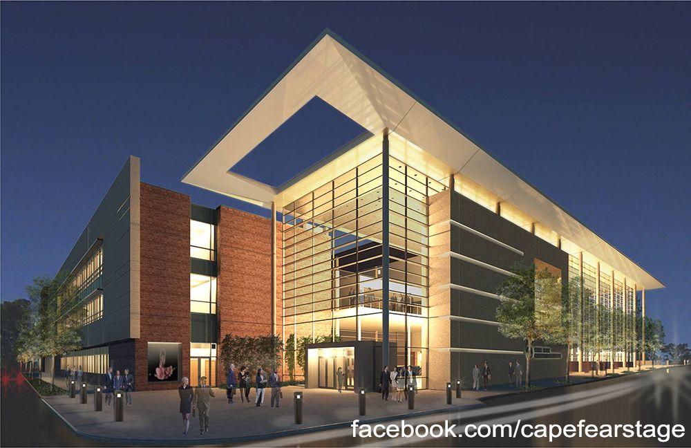 Thalian Hall and Wilson Center Arquitectura, Edificio
