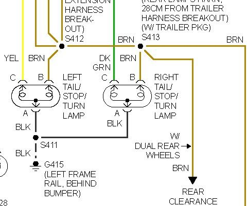 49 1998 Chevy Silverado Brake Light Switch Wiring Diagram ...