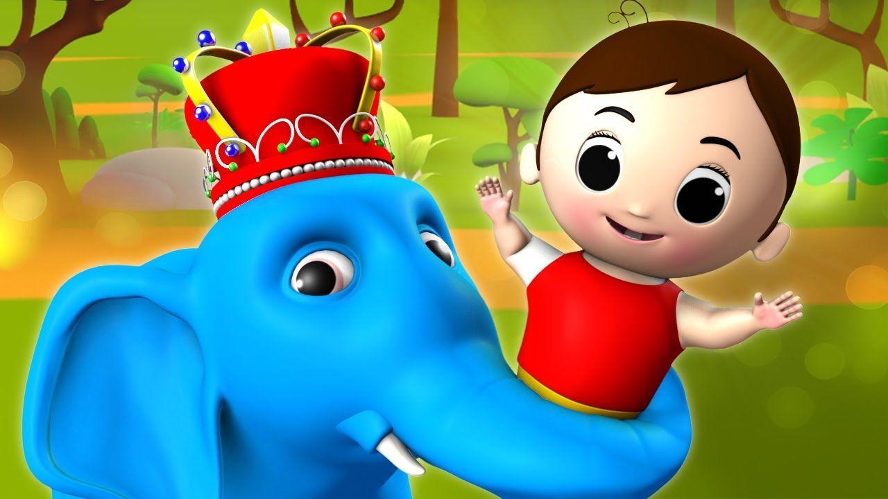 Hathi Raja Kahan Chale 3D Animated Hindi Nursery Rhymes