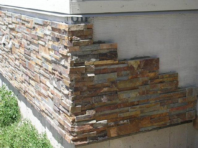 Cultured Stone Work By R Davidson Masonry 1 1 2 Exterior Stone Stone Facade Stone Veneer Exterior