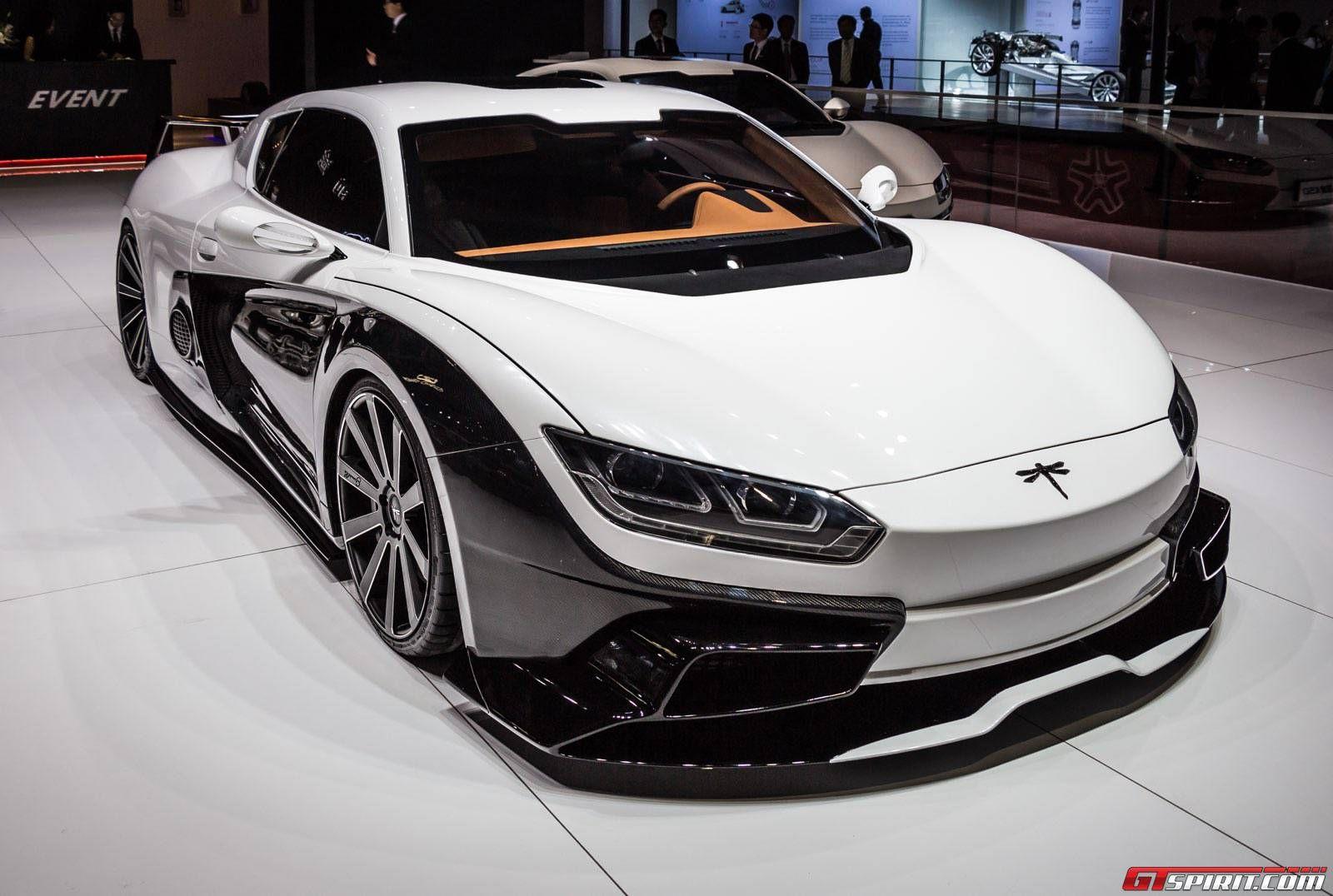 Shanghai 2015 Qiantu K50 Event In 2020 Super Cars Modern Muscle Cars Car