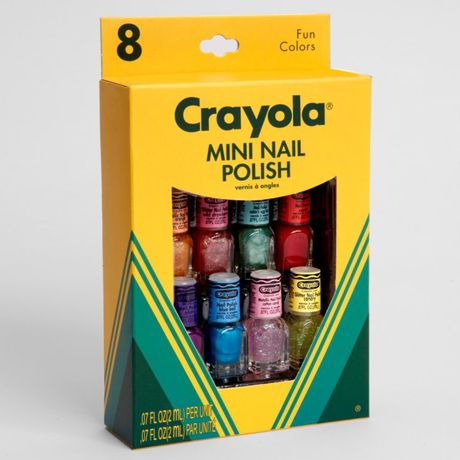 Crayola Mini Nail Polish Set Cute And Inexpensive Stocking