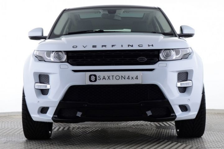 Used Land Rover Range Rover Evoque Sd4 Pure Tech 5 Door Auto Overfinch Gts White For Sale Essex Ke15lmm Saxton 4x4