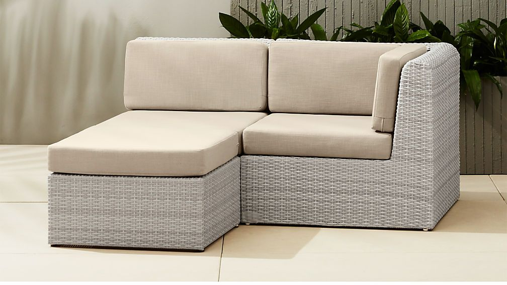 Small Sectional Sofa With Ottoman In
