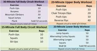 Image Result For Weekly Workout Plan For Weight Loss  Workouts