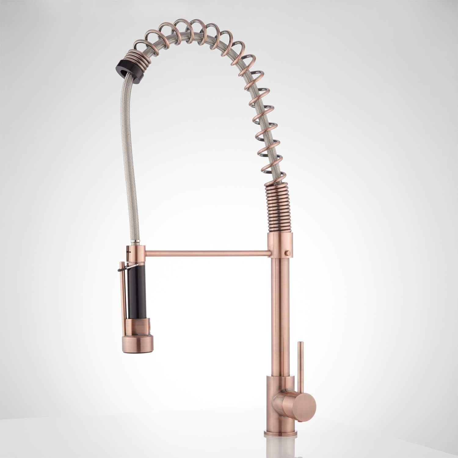 Asaro Kitchen Faucet With Pull Down Spring Spout With Images