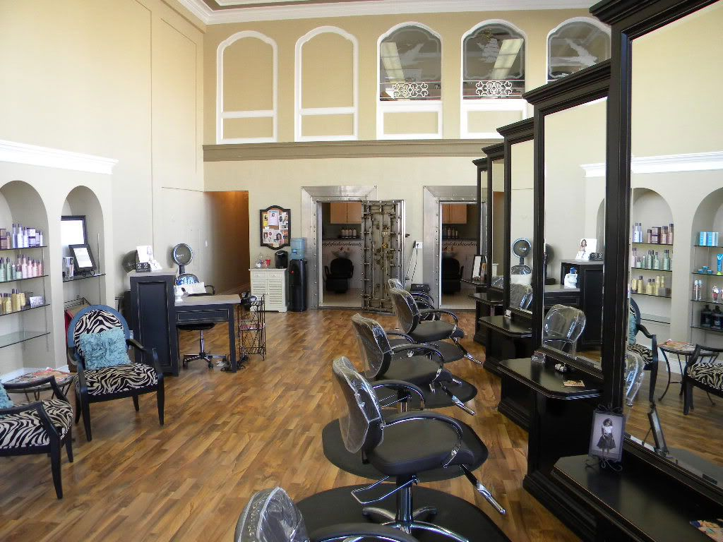 Hair salon design ideas photos beautiful full length for Salon furniture