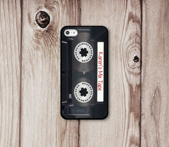 Mix Tape  iphone Case 5 4 4s  Iphone 5  Iphone 4  by LuvYourCase... How awesome is this?!
