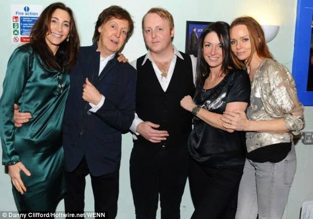 Although He Finds Talking About It Difficult James McCartney Has Opened Up For The First Time Growing In One Of Worlds Most Famous Families